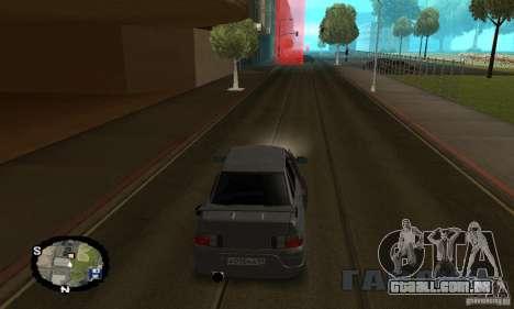 Corrida de rua para GTA San Andreas sétima tela