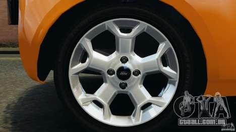 Ford Ka 2011 para GTA 4 vista lateral