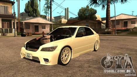 Toyota Altezza RS200 JDM Style para GTA San Andreas