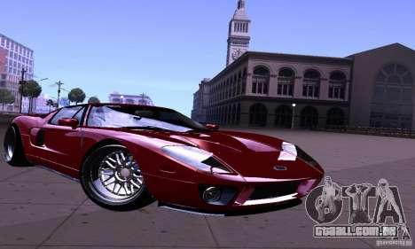 Ford GT 2005 para GTA San Andreas vista traseira