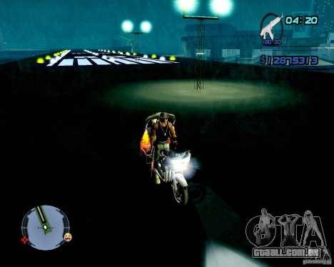 Not ENB para GTA San Andreas sexta tela