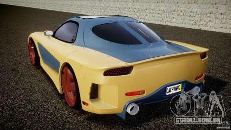 Mazda RX-7 Veilside v0.8 para GTA 4 traseira esquerda vista