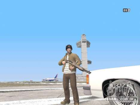 HQ Weapons pack V2.0 para GTA San Andreas nono tela