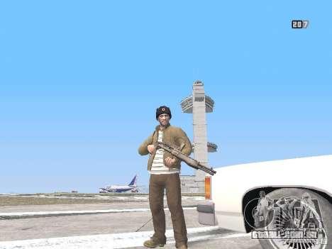 HQ Weapons pack V2.0 para GTA San Andreas nono tela