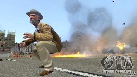 Explosion & Fire Tweak 1.0 para GTA 4 quinto tela