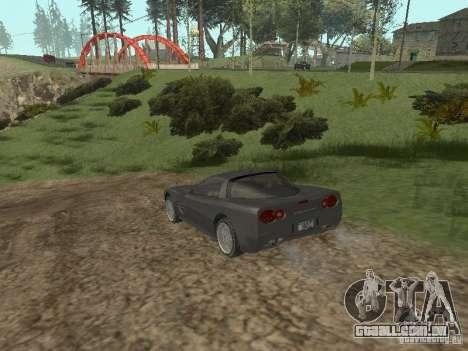 Chita de GTA 4 para GTA San Andreas vista direita