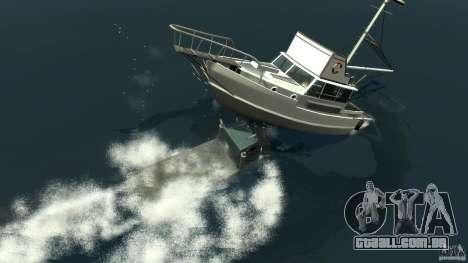 Biff boat para GTA 4 vista inferior