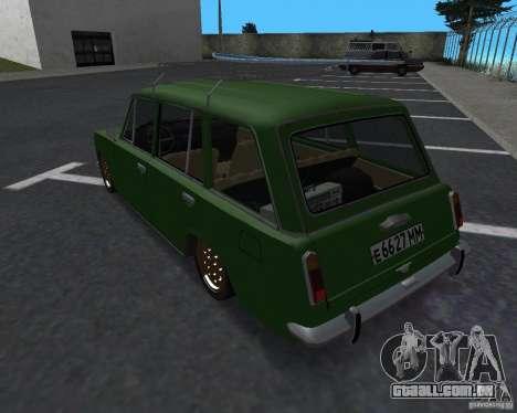 VAZ 2102 Florida para GTA San Andreas esquerda vista