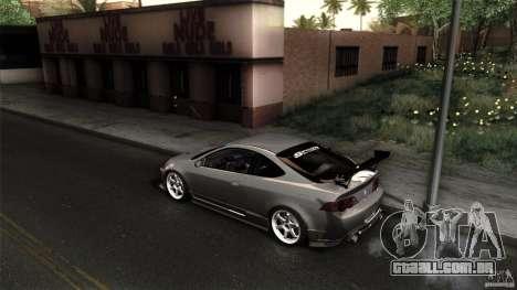 Acura RSX Spoon Sports para GTA San Andreas vista interior