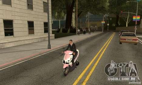 Honda Vario-Velg Racing para GTA San Andreas vista direita