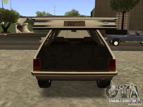 Ford Fiesta 1981 para GTA San Andreas vista direita