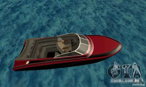 GTAIV TBOGT Floater para GTA San Andreas esquerda vista