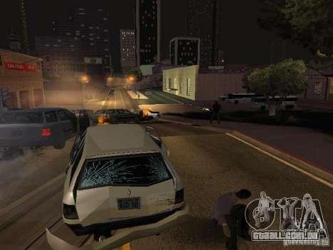 Câmera em movimento livre para GTA San Andreas terceira tela