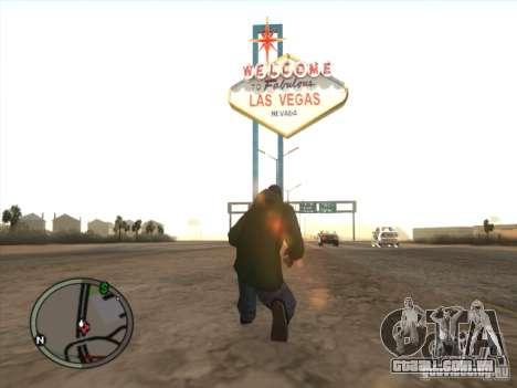 Las Vegas no GTA San Andreas para GTA San Andreas