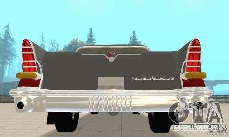 GAZ 13 Chaika v 2.0 para GTA San Andreas vista direita