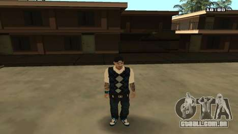 Skin Pack The Rifa para GTA San Andreas sexta tela