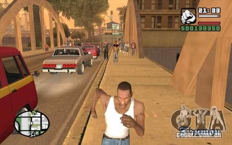 Resident Evil Dead Aim para GTA San Andreas terceira tela