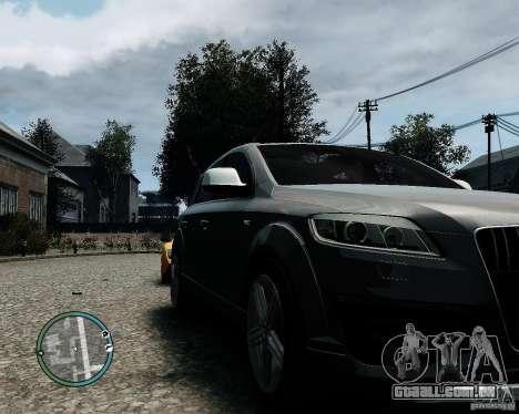 Audi Q7 V12 TDI Quattro Updated para GTA 4 esquerda vista
