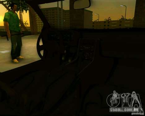 DeLorean DMC-12 V8 para GTA Vice City vista traseira esquerda