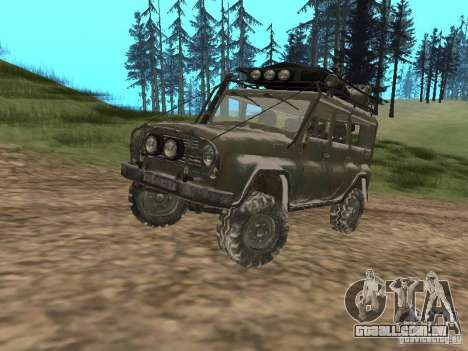 UAZ-31519 do COD MW2 para GTA San Andreas