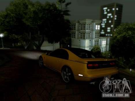 Nissan 300ZX Fairlady Z32 para GTA San Andreas esquerda vista