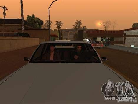 Los Santos Protagonists para GTA San Andreas segunda tela