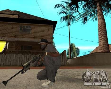 AWP.50 para GTA San Andreas segunda tela