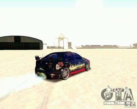 Skoda Octavia III Tuning para GTA San Andreas vista direita