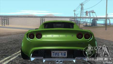 Lotus Elise para vista lateral GTA San Andreas