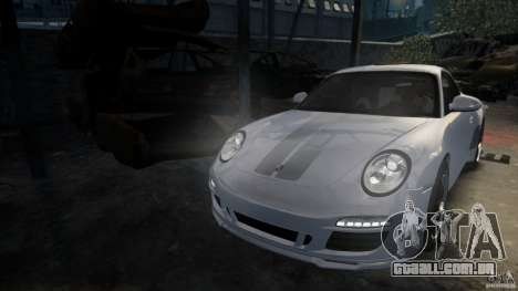 Porsche 911 Sport Classic v2.0 para GTA 4 traseira esquerda vista