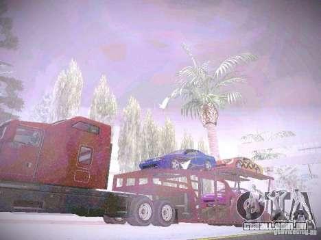 Auto transporte reboque para GTA San Andreas vista direita