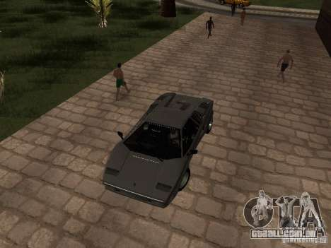 Lamborghini Countach 25th para GTA San Andreas vista direita