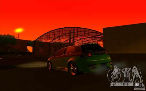 Volkswagen Golf V R32 Custom para GTA San Andreas vista superior