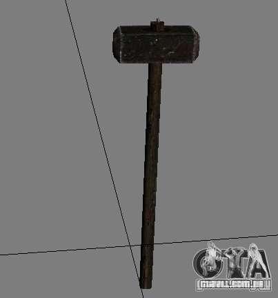 Um conjunto de armas do perseguidor V2 para GTA San Andreas décimo tela