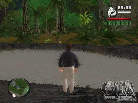 Tony Montana em uma camisa para GTA San Andreas segunda tela