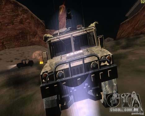 Hummer H1 do COD MW 2 para GTA San Andreas