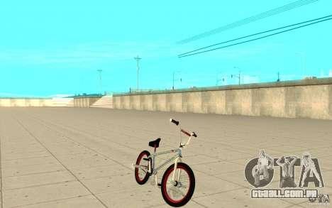 REAL Street BMX mod Chrome Edition para GTA San Andreas