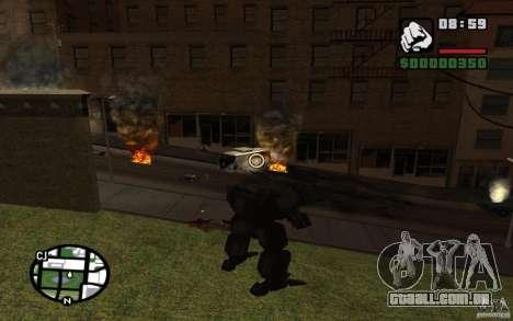 Exoesqueleto para GTA San Andreas terceira tela
