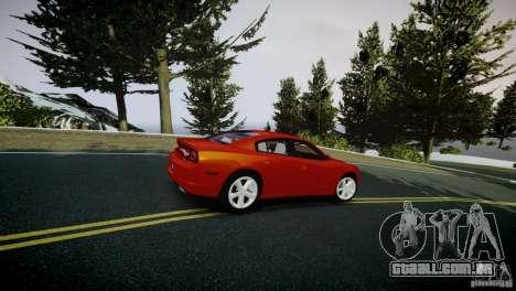 Dodge Charger R/T 2011 Max para GTA 4 vista de volta