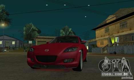 Luzes de néon vermelhas para GTA San Andreas terceira tela