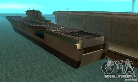 Flugzeugtrager para GTA San Andreas