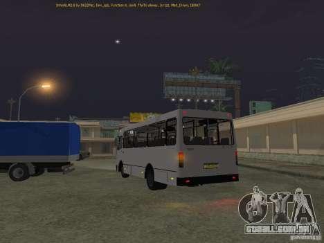 Bogdan IVLM A091 para GTA San Andreas traseira esquerda vista