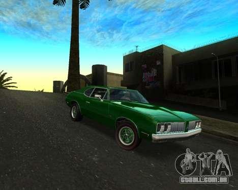 EON Stallion GT-A para GTA San Andreas traseira esquerda vista