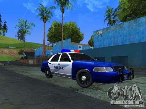 Ford Crown Victoria Belling State Washington para GTA San Andreas esquerda vista