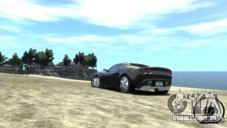 Lotus Elise v2.0 para GTA 4 esquerda vista
