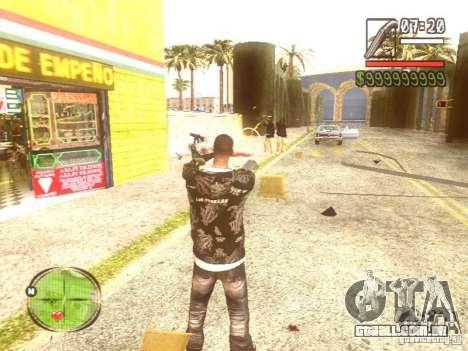 Wild Wild West para GTA San Andreas décimo tela
