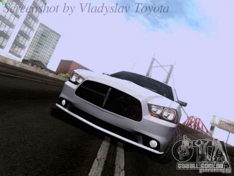 Dodge Charger 2013 para GTA San Andreas esquerda vista