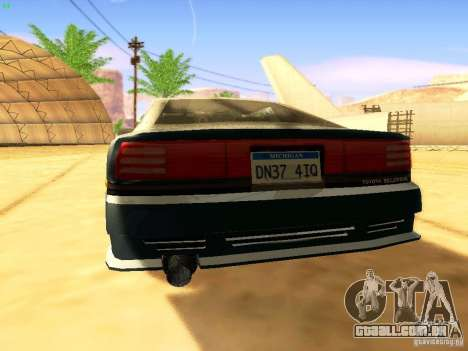 Toyota Supra para as rodas de GTA San Andreas
