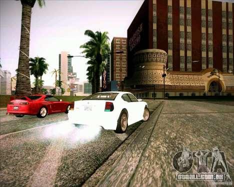 GTA 4 TBoGT de Buffalo para GTA San Andreas traseira esquerda vista