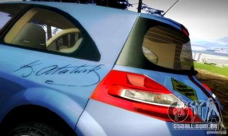 Renault Megane Coupe 2008 TR para GTA San Andreas vista traseira